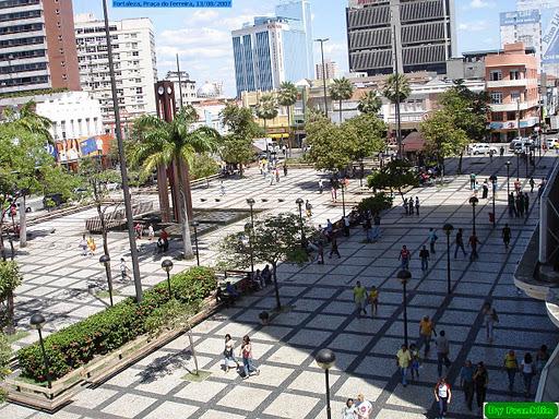 Praça do Ferreira, Fortaleza/CE/Brasil
